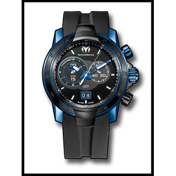 TechnoMarine UF6 Chronograph SMALL SECOND - Deep Blue