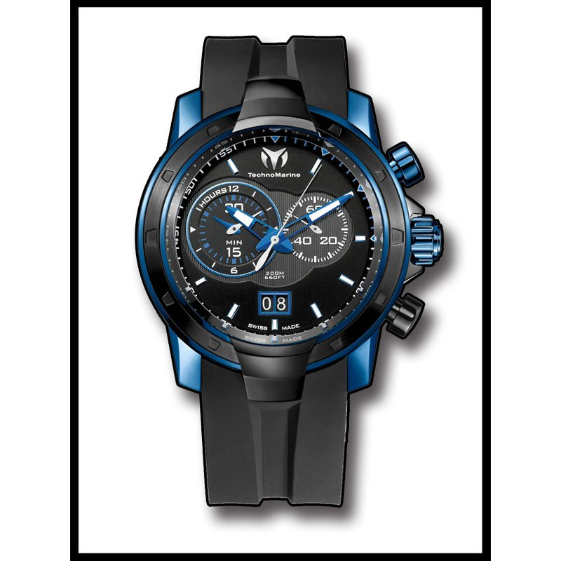 TechnoMarine TechnoMarine UF6 Chronograph SMALL SECOND - Deep Blue