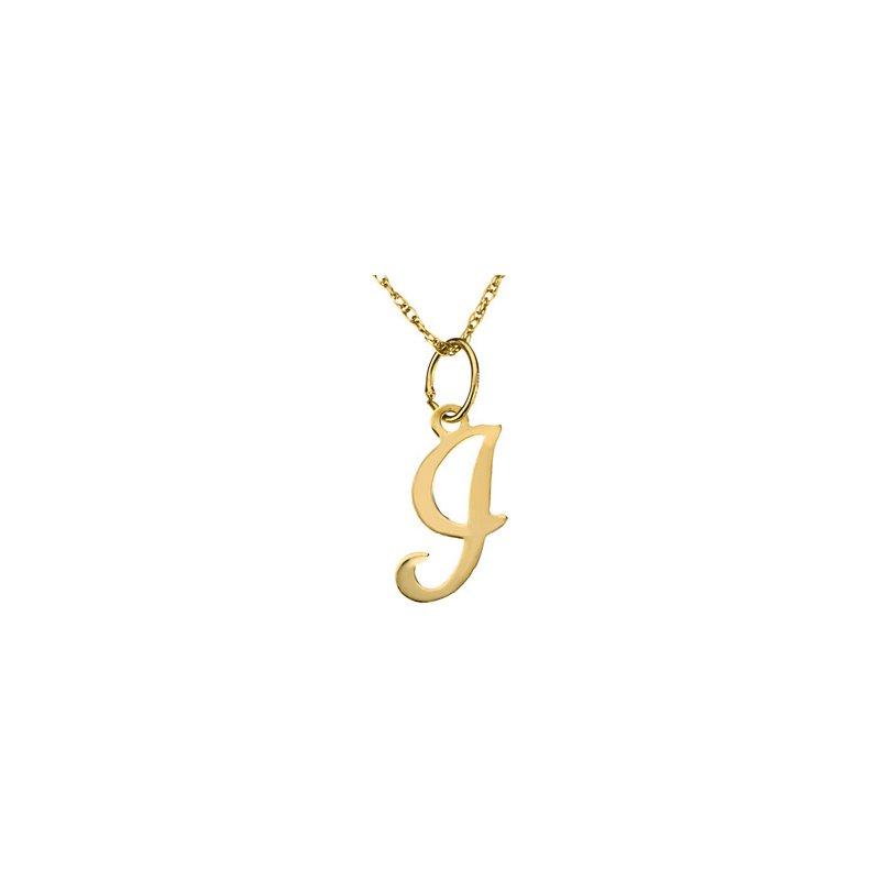 "Ladies' Jewelry Initial ""I"" Necklace"