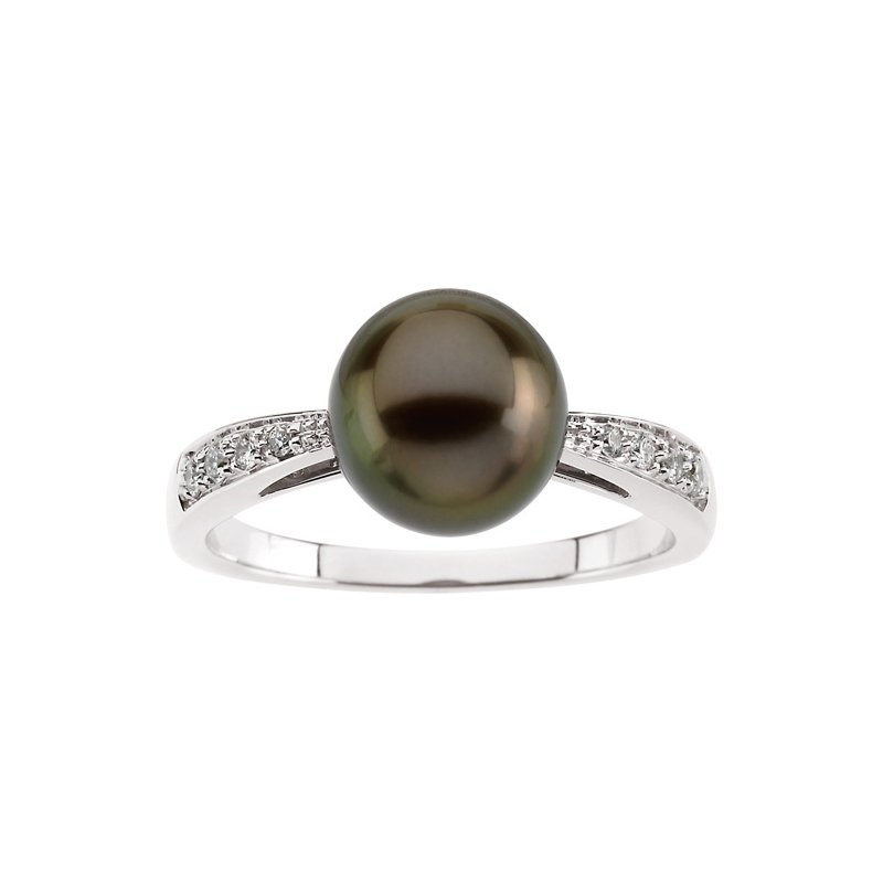Ladies' Jewelry Tahitian Cultured Pearl Ring