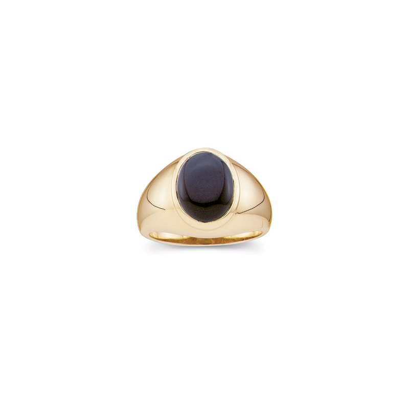 Men's Jewelry Men's Genuine Onyx Ring