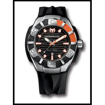 TechnoMarine Watch Black Reef - Orange