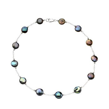Freshwater Cultured Coin Pearl Necklace