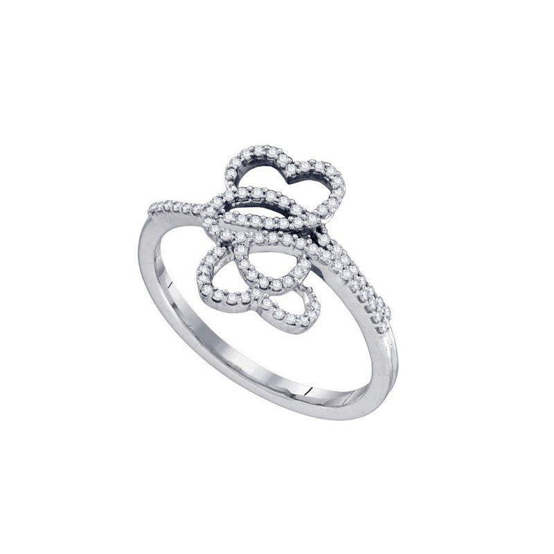 Valentine Gift Ideas Diamond Micro-Pave Ring