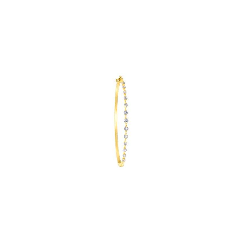 Holiday Ideas 1 ct tw Diamond Bangle Bracelet
