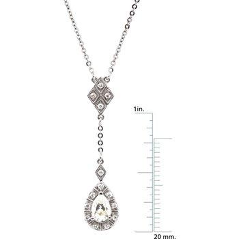 Moissanite & Diamond Necklace