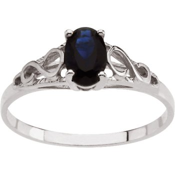 Teen Imitation September Birthstone Ring