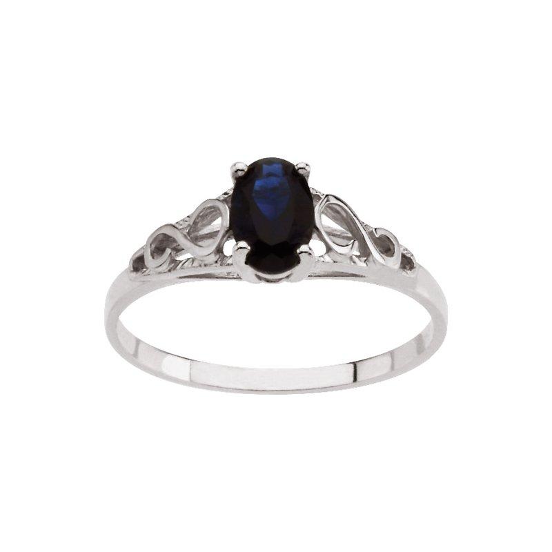 Birthstone Jewelry Teen Imitation September Birthstone Ring