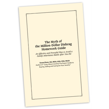 (Printed) The Myth of the Million Dollar Dishrag: An Effective and Powerful Plan to Avoid a Family Inheritance Battle After You Die - Homework Guidebook