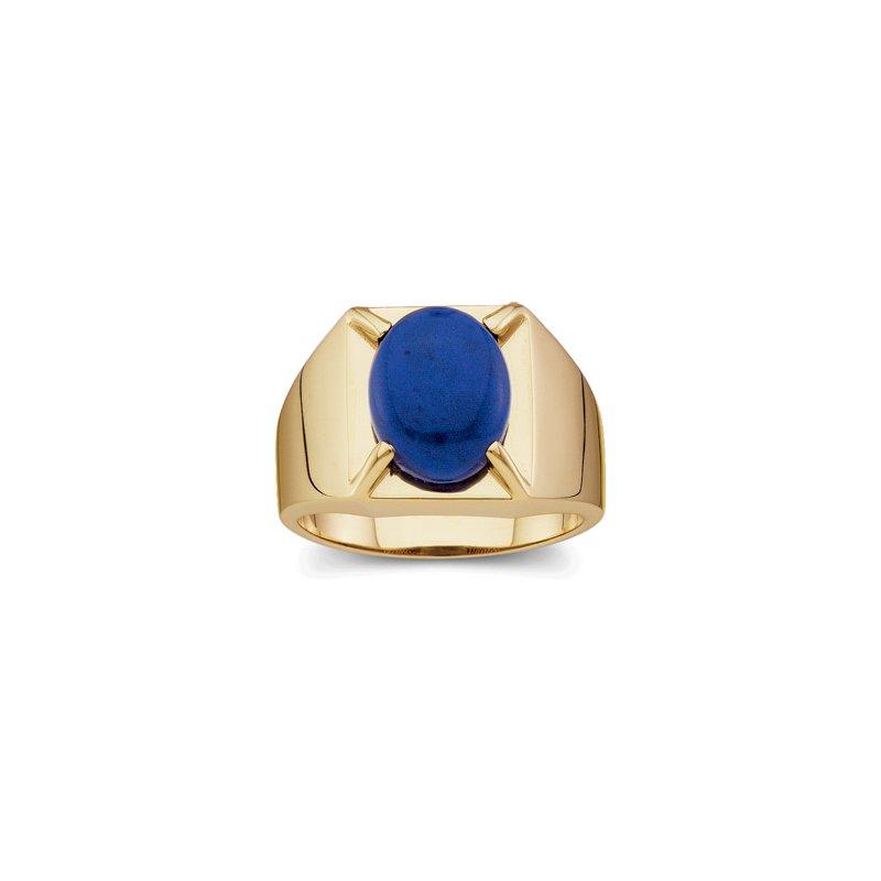 Men's Jewelry Men's Genuine Lapis Ring