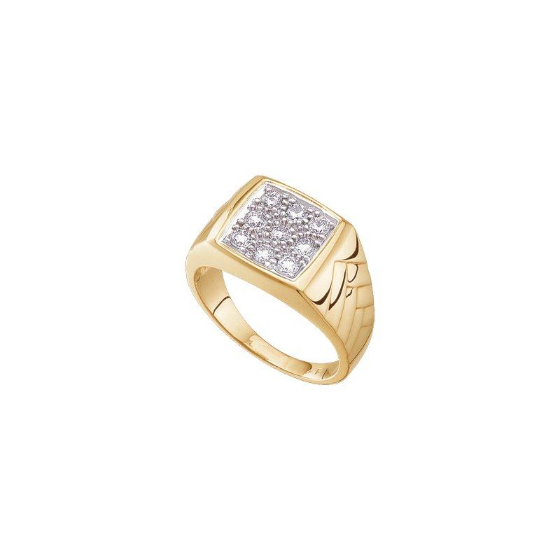 Holiday Ideas 5/8 ct tw Gents Diamond Ring
