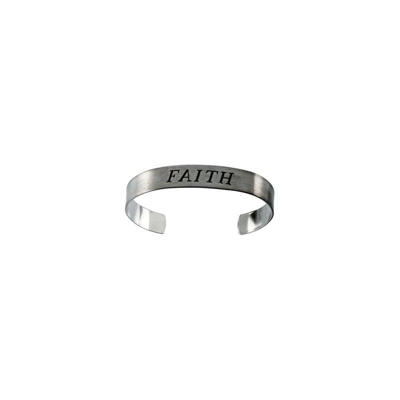 Religious Jewelry Faith Cuff Bracelet