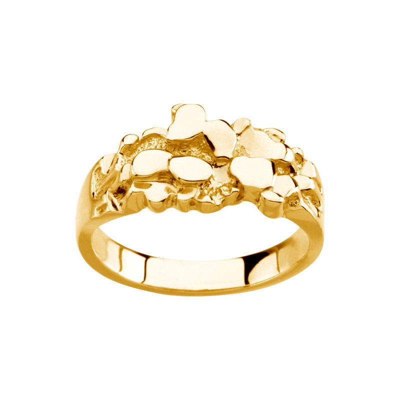 Men's Jewelry Men's Gold Nugget Ring