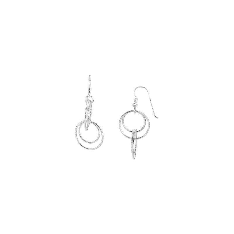 Ladies' Jewelry Circle Dangle Earrings