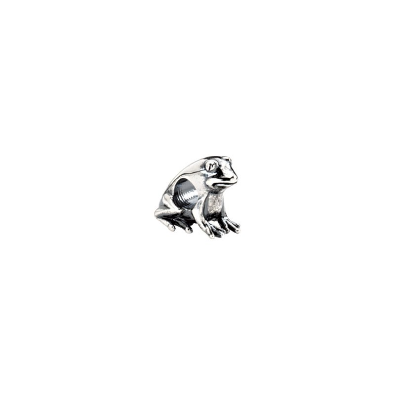 Holiday Ideas Kera Sterling Silver Frog Bead