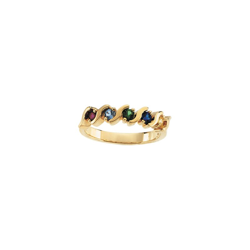 Holiday Ideas Ring for Mom (2 to 5 stones)