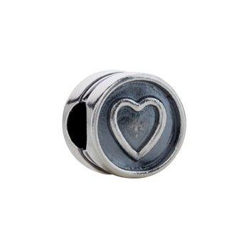 """Kera """"Heart"""" Symbol Bead"""