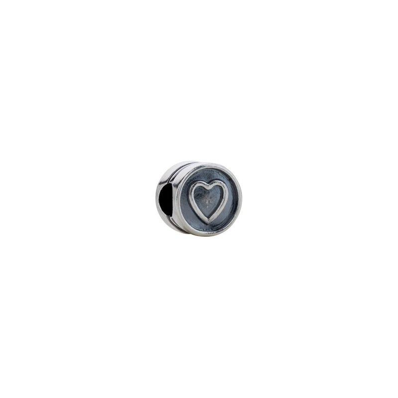 """Holiday Ideas Kera """"Heart"""" Symbol Bead"""