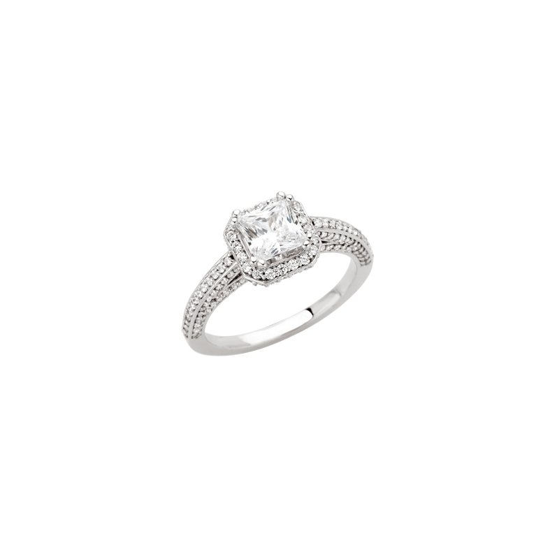 Holiday Ideas Semi-Mount Engagement Ring