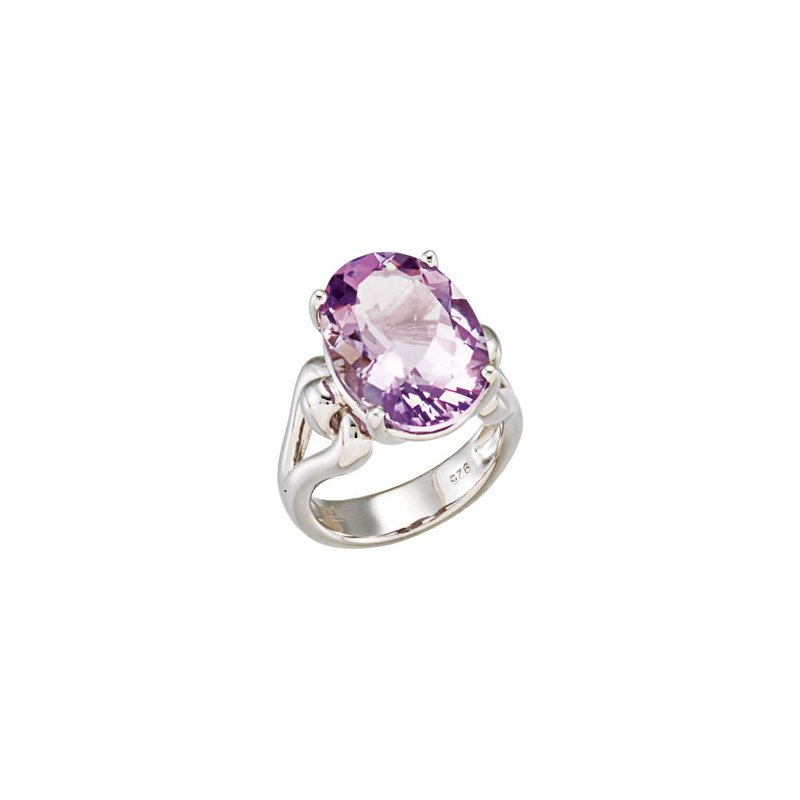 Holiday Ideas Genuine Rose De France Amethyst Ring