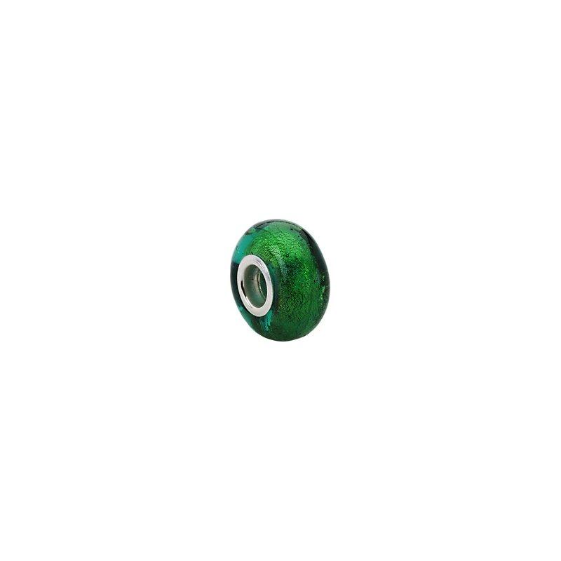 Holiday Ideas Kera Green Murano Glass Bead
