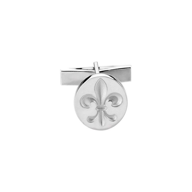 Men's Jewelry Fleur-de-lis Cufflinks