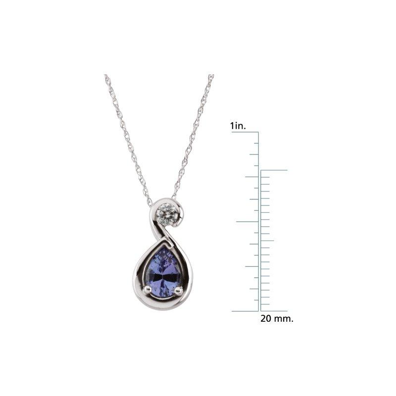 Ladies' Jewelry Genuine Tanzanite Necklace