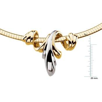Chain Slide on an Omega Chain