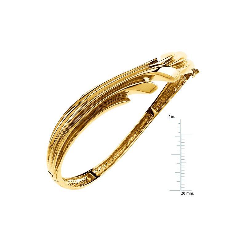 Ladies' Jewelry Hinged Bangle Bracelet