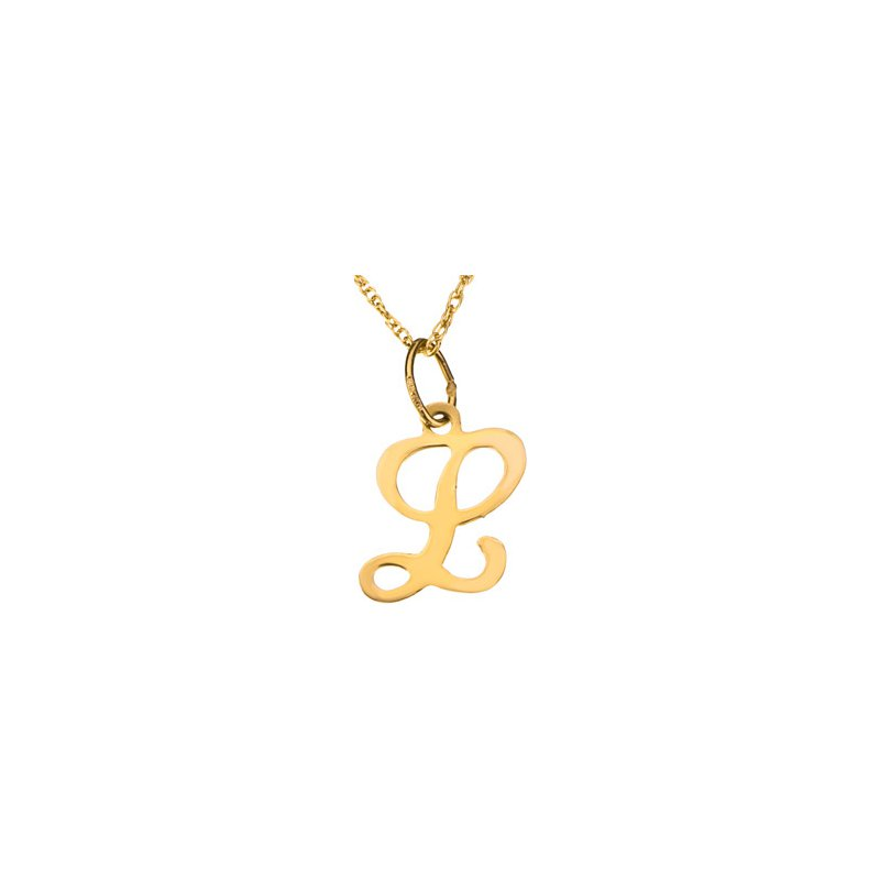 """Ladies' Jewelry Initial """"L"""" Necklace"""