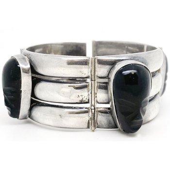 Vintage Mexican sterling silver bracelet