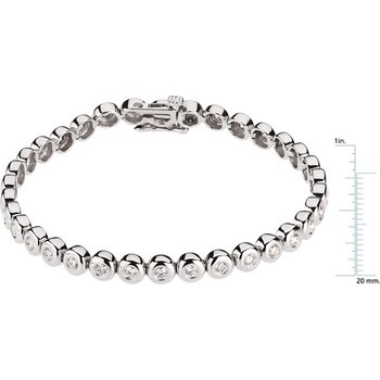 Diamond Tennis Line Bracelet