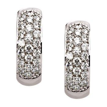 Diamond Hinged Earrings