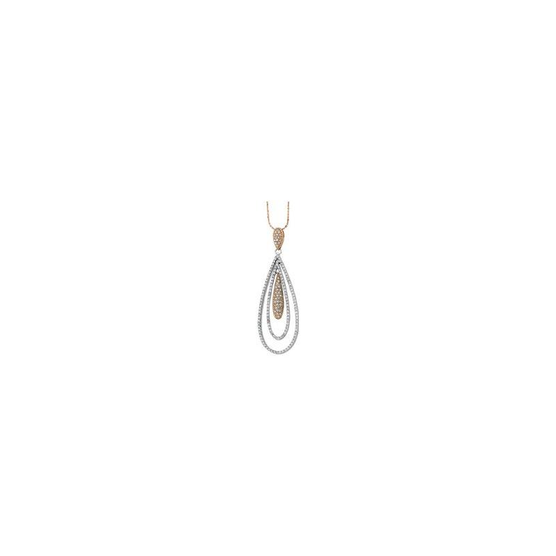 Holiday Ideas 1 1/6 ct tw Diamond Pendant