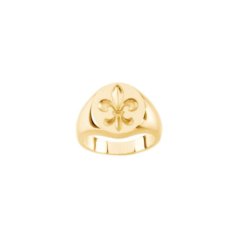 Men's Jewelry Mens Fleur-de-Lis Ring