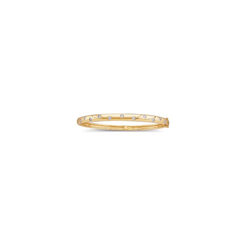 Holiday Ideas 1/2 ct tw Diamond Bangle Bracelet