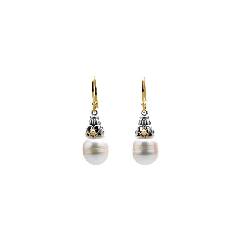 Holiday Ideas Freshwater Cultured Pearl Earring