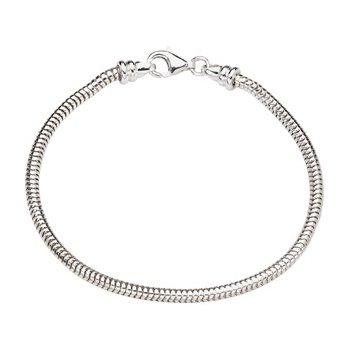 Kera Sterling Silver Snake Bracelet