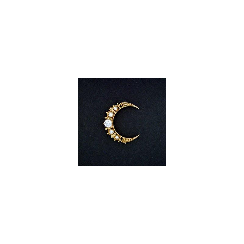 Estate & Vintage Antique/Vintage PREVIOUSLY LOVED ® Diamond Brooch