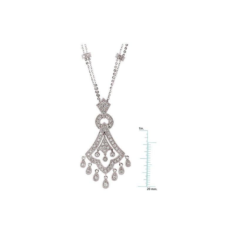 Ladies' Jewelry Diamond Chandelier Necklace