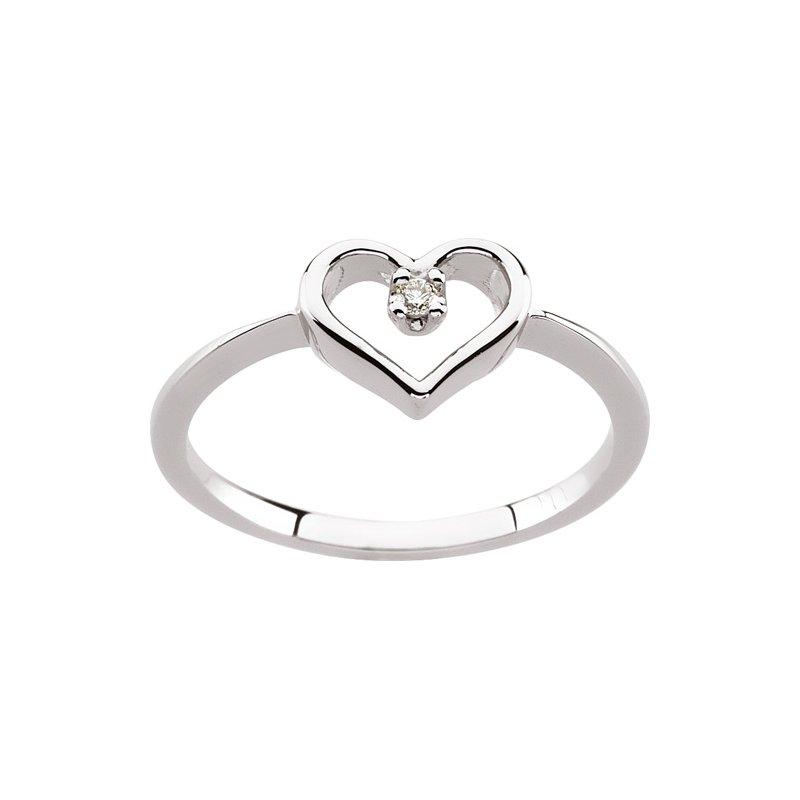 Ladies' Jewelry Diamond Heart Ring
