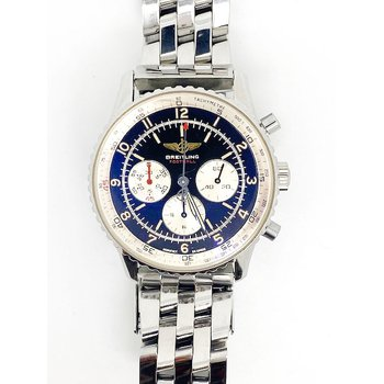 Gent's stainless steel Breitling Football watch