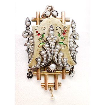 Vintage and Deco Style Brooch