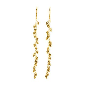 Cascading Dangle Bead Earrings