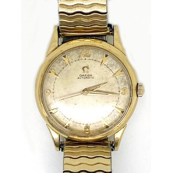 Gent's gold tone Omega Watch