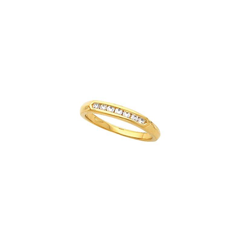 Susan Eisen 1/6 ct tw Diamond Wedding Band