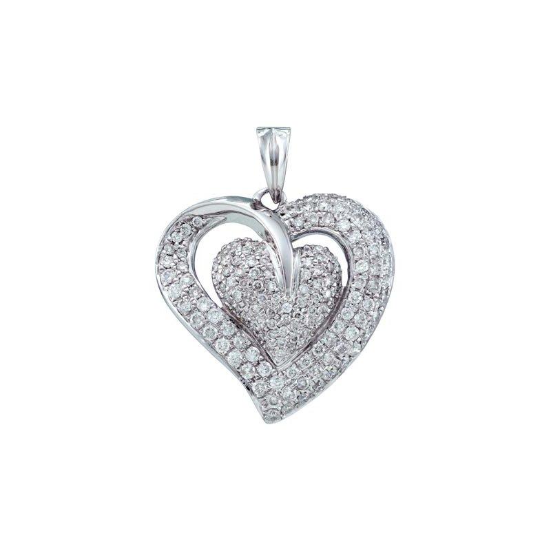 Valentine Gift Ideas Diamond Heart Pendant