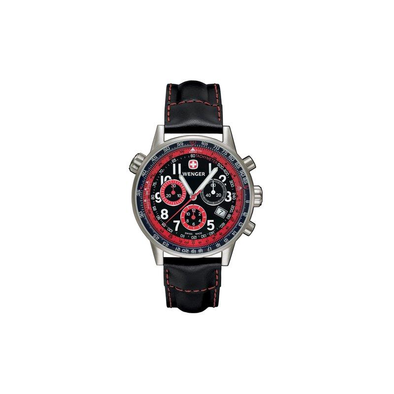Eisen Watches Wenger Mens Black Commando Sr Military Watch