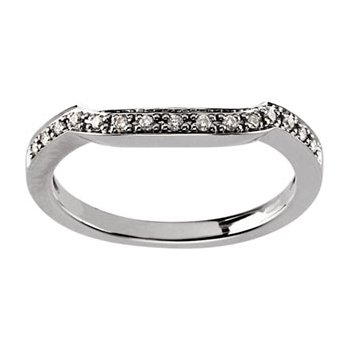 1/10 ct tw Diamond Wedding Band