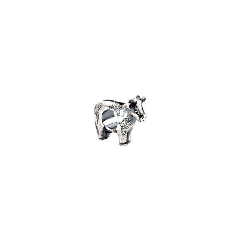Holiday Ideas Kera Sterling Silver Cow Bead